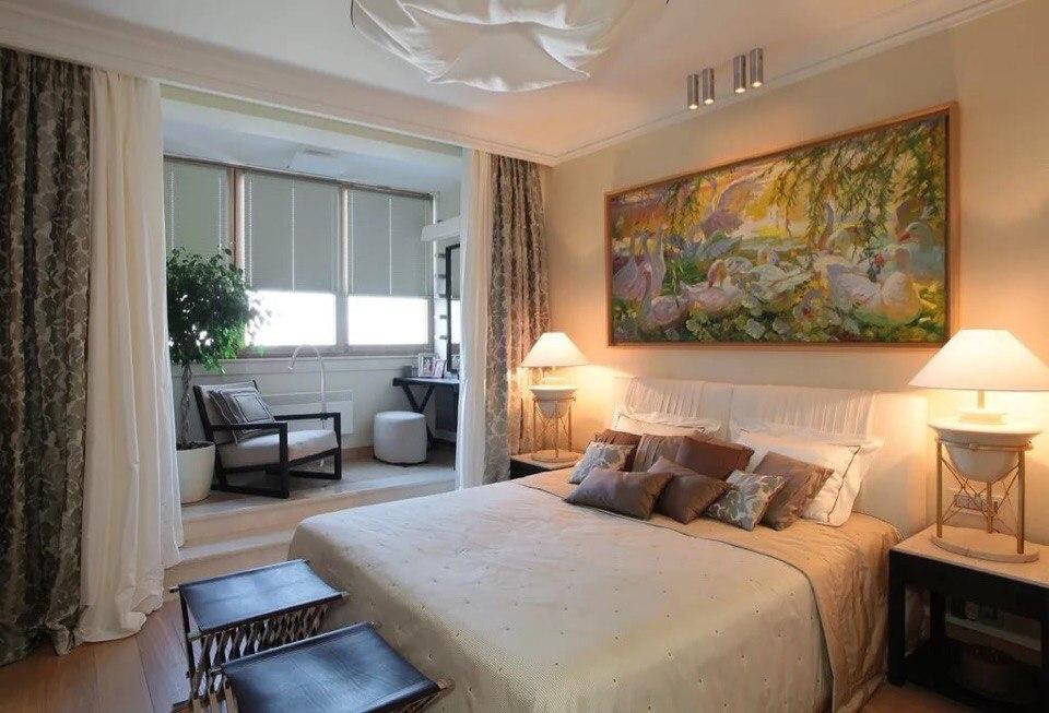 Совмещение комнаты с балконом antoniohouse.